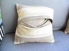 DIY Pillow Covers - Mom can you help me with this??