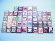 Nintendo Game Boy GB 45 Cassettes SET !! Used from JAPAN =A=