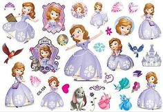 SOFIA THE FIRST kids party Temporary Tattoos waterproof Body Art Stickers M320