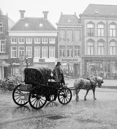 Rainshower in Groningen, NL