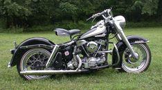 1963 Harley Davidson panhead FLH from Wolverine: X-men Origins #harleydavidsonbobberscaferacers