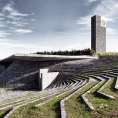 """This mosque in Istabul designed by local studio Emre Arolat Architects, which features cast concrete walls and a """"cave-like"""" prayer hall"""