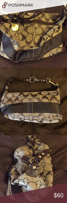 Coach small bag Very good condition - one small pull in fabric Coach Bags Mini Bags
