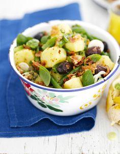 Tästä löydät vapun 5 parasta perunasalaattia. Peruna on salaatin runko, vaihtele muita aineksia mielikuvituksen mukaan.
