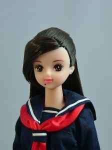 "Japanese high school doll ""Minamino Yoko"" from Sukeban Deka"