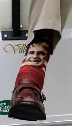 All The President's Socks: The Top 13 Pairs Worn by George H.W. Bush | TIME