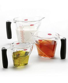 OXO Angled Measuring Cup Set - Measuring Tools - Kitchen - Macy's $19.99