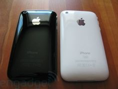 Comparing leaked parts of black and white iPhone 5
