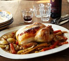Lidia's Italy: Recipes: Chicken In Beer