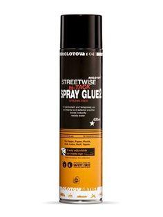 Novel fiber spray glue for permanent and temporary adhesion. Graffiti Supplies, Art Supplies, Graffiti Spray Paint, Spray Glue, Drink Bottles, Cleaning Supplies, Adhesive, Fiber, Painting