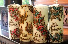 eid mubarak candles - Google Search