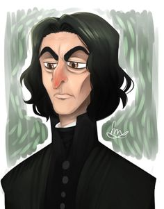 Severus Snape by Crispy ★