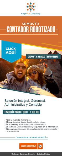 #NOVOCLICK esta con #GrupoPlusConsulting #ContadorRobotizado E-mail Marketing, Movie Posters, Film Poster, Popcorn Posters, Film Posters