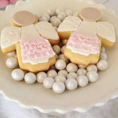 Little Wish Parties | Angel Themed Christening and First Birthday | https://littlewishparties.com