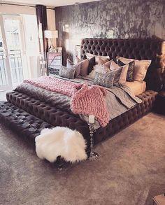 54 cozy home decorating ideas for girls bedrooms 20 homedecorideas bedroomdesignideas 22356156898993 Home Bedroom, Girls Bedroom, Bedroom Furniture, Furniture Plans, Kids Furniture, Online Furniture, Furniture Shopping, Bedroom Ideas Purple, Beds Master Bedroom