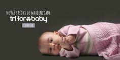 Saídas de Maternidade em Tricot, da Tri for Baby