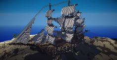 Mideval Ship < wow this is minecraft...