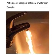 """Prudence Goode - Witch's Instagram photo: """"Being married to a Scorpio, friends with a LOT of Scorpios, and having a Scorpion rising I can confirm the veracity of this meme.…"""" Scorpio Funny, Scorpio Traits, Scorpio Zodiac Facts, Scorpio Girl, Zodiac Funny, Scorpio Quotes, Scorpio Moon, Zodiac Signs Astrology, Zodiac Memes"""