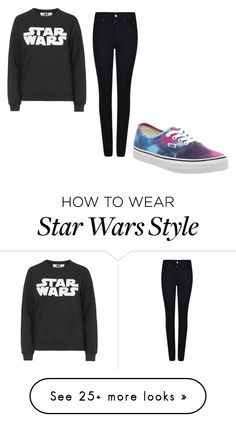 """star wars"" by tiffanysmith-7 on Polyvore featuring Tee and Cake, Giorgio Armani and Vans"