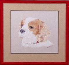 Custom framed pet po