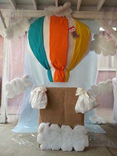 Photo booth DIY hot air balloon