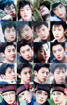He looks so puffy it's hella cute Foto Chanyeol Exo, Chanyeol Cute, Kyungsoo, Chansoo, Chanbaek, Happy Emotions, Kim Joon, Best Rapper, Parks