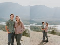 Jasper National Park Engagement photo session