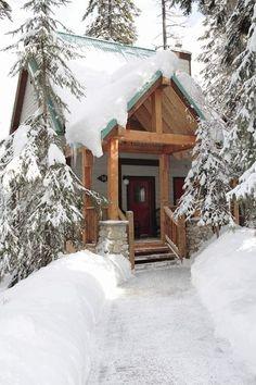Mountain Cabin ~ Emerald Lake, British Columbia