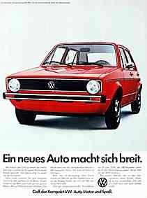Werbung /Bilder 1976