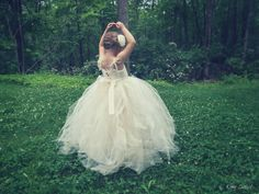 Rose Tulle Gown