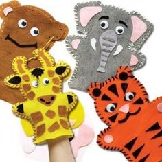 couture marionnette en feutrine animaux de la jungle kit 4 marionnettes pas cher couture enfant activites manuelles theatre loisirs creatifs.jpg
