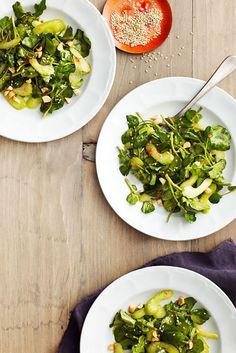 Sesame Watercress Salad  - CountryLiving.com
