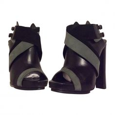 Bottines & low boots à talons BALENCIAGA Noir