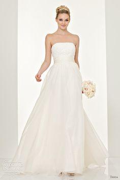 Theia Wedding Dresses Fall 2011 | Wedding Inspirasi
