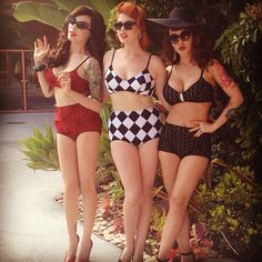Yes, love these swimsuits. Michelline Pitt, Doris May Day and Masuimi Max :)