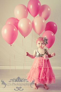 1st Birthday Photography idea