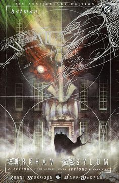 """""""Arkham Asylum"""" by Morrison and McKean was the top point of the """"You're as crazy as the rest of us"""" approach. What Dave McKean created for this comic is a milestone."""