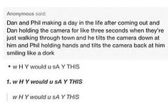 I personally don't care if 'phan' is real. But this is just cute.
