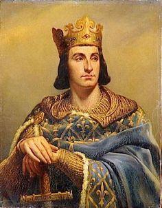 Philip_II,_King_of_France,_in_a_19th-century_portrait_by_Louis-Félix_Amiel.jpg (468×600)