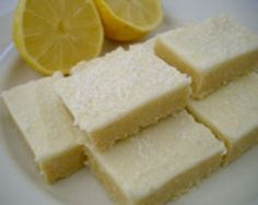 Coconut Lemon Slice | A classic no-bake slice that is always popular at fetes and cake stalls. Easy to make, it combines a strong lemony flavour with a sweet coconut topping.