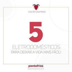 5 eletrodomésticos para deixar a vida mais fácil