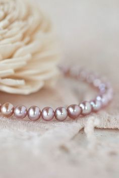 12b2a72ef Sweet pearl bracelet - real pearls and silver in sizing baby through bride.  ♥️ Handmade
