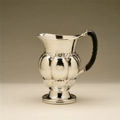 Gallery 925 - Georg Jensen Pitcher no. 9, Handmade Sterling Silver