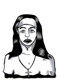 Laura Morales Photo - Illustration Illustration Photo, Zine, Black And White, Portrait, Photography, Art, Sketching, Art Background, Photograph