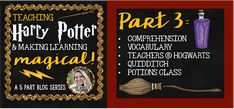 Making Learning Magical with Harry Potter- Part 3 - Where the Wild Things Learn
