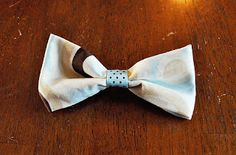 How to make a lil guy bowtie!