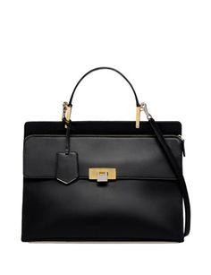 BALENCIAGA Le Dix Zip Cartable Bag