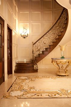 Traditional Entry Stair Design Design, Pictures, Remodel, Decor and Ideas
