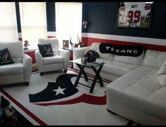 Houston Texans man cave