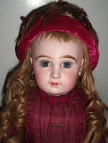 "20"" Tete Jumeau Antique Doll Antique Dress RARE Hat- Layaway (item #1281705) #dollshopsunited"